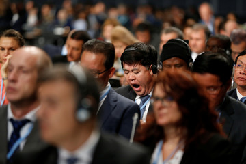 Participants attend the COP24 U.N. Climate Change Conference 2018 in Katowice