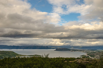 Fjord in Nowray Alta