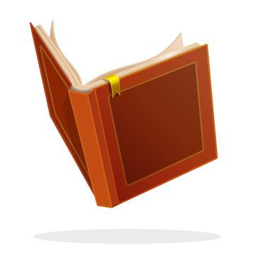 vector open book fairytale story