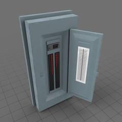 Open fuse box