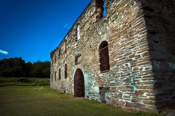 ruin in Sweden