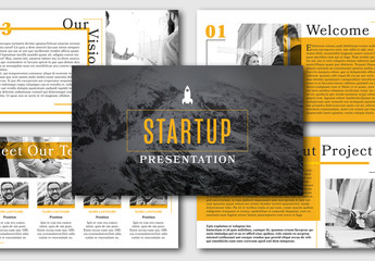 Business Startup Presentation Layout