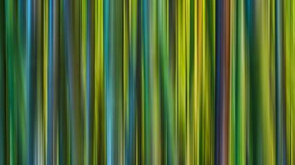 Abstract vertica greenl lights line motion blur