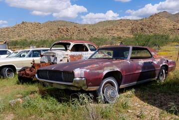 Autofriedhof an der Route 66