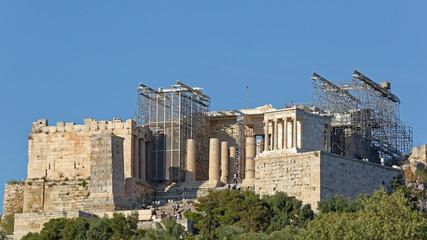 Acropolis Construction Greece