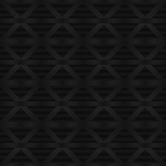 Abstract seamless background of black carbon fiber texture.