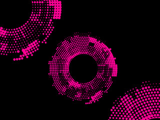 Abstract dot background. Polka dot background