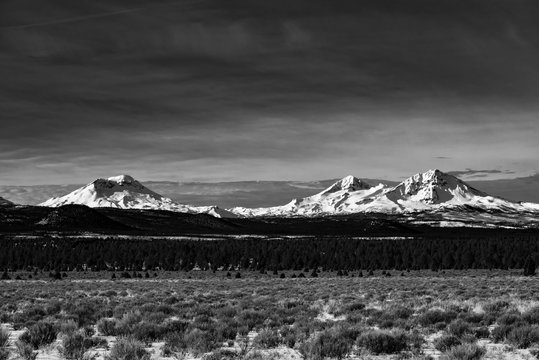 Three Sisters in Central Oregon