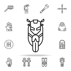 motor sports icon. motor sports icons universal set for web and mobile