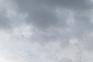 Rain clouds. Abstract dramatic background.