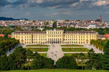 Blick über Wien von der Gloriette aus