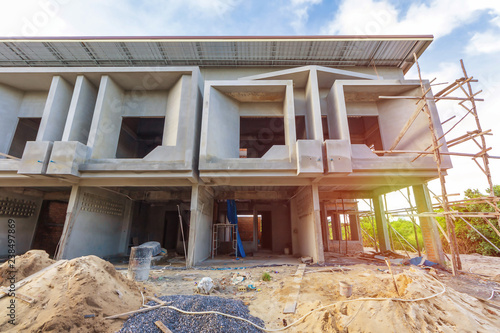 two storey houses are under construction in Thailand, modern house on thai accessories, hd modern house design, thailand thai house design, thai illustration, small two bedroom house exterior design, french modern house design, zen garden design, thai house design ideas, thai decorating ideas, zen interior design, mediterranean modern house design, brazilian modern house design, sri lankan modern house design, american modern house design, new zealand modern house design, zen house design, tropical beach house interior design, thai contemporary house,