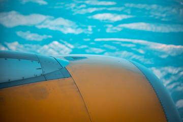 motores de avion Fototapete