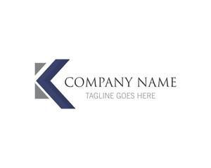 K letter logo vector template