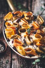 Ragout de Boeuf Haché Gratiné au Parmesan et Pâtes Italiennes