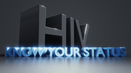 HIV know your status AIDS protection information