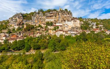 village de Rocamadour, Lot, vallée de la Dordogne, France