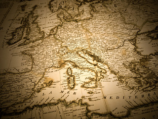 古地図 イタリア