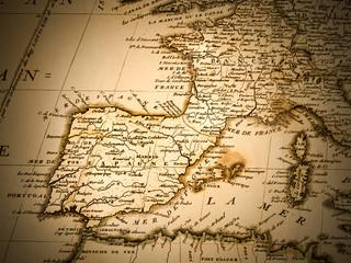 古地図 イベリア半島