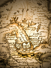 古地図 デンマーク