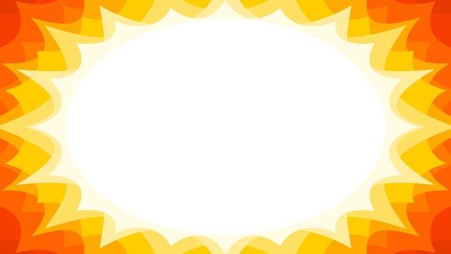 summer sale starburst flash promotional background in sunburst colors