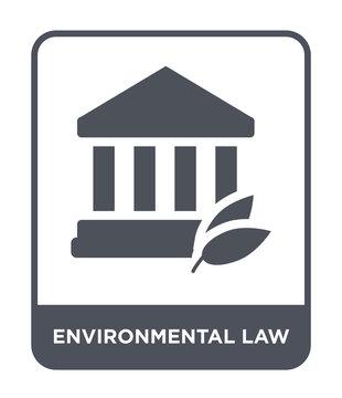 environmental law icon vector