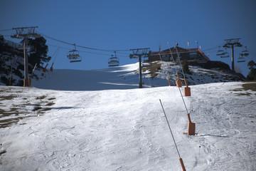 Estación de esqui de Pals-Arinsal en Andorra