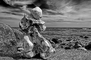 stone on stone