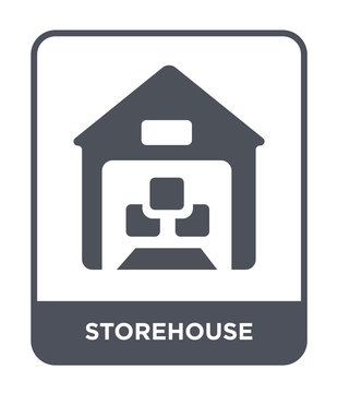 storehouse icon vector