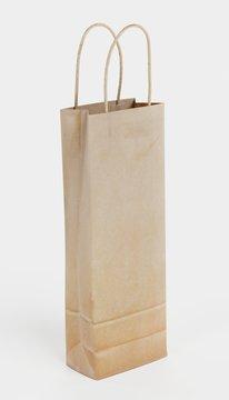 Realistic 3d Render of Wine Bag