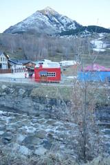 Foto op Aluminium Arctica Cerler. Ski area of Huesca. Aragon, Spain