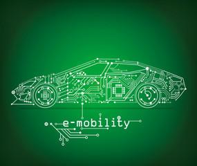 e-mobility and e-car