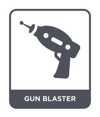 gun blaster icon vector