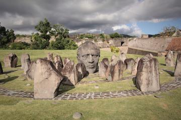 Guadeloupe, Statue de Louis Delgres au Fort Delgres à Basse Terre