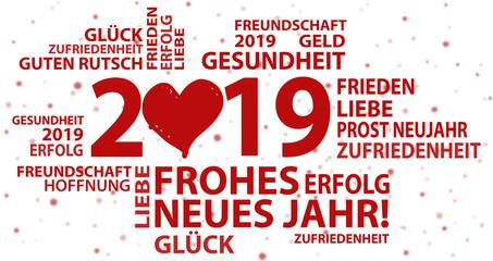 Neujahrsgruss 2019