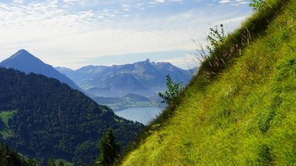 Schinige Platte, Aussicht, Jungfrau, Thunersee, 16.09.2015