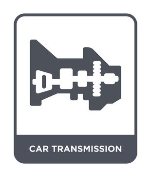 car transmission icon vector