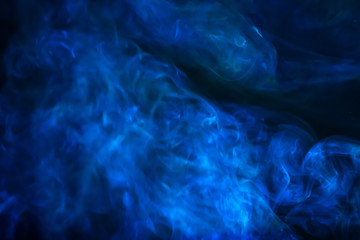 blue smoke abstract texture background