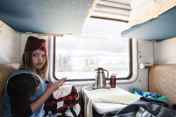 Young Thai girl  solo traveler