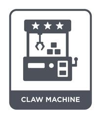 claw machine icon vector
