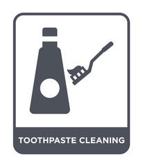 toothpaste cleanin icon vector