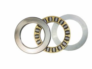 Thrust bearing with brass cage for heavy industry