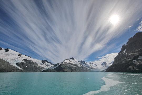 View of the Risting glacier