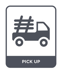 pick up icon vector
