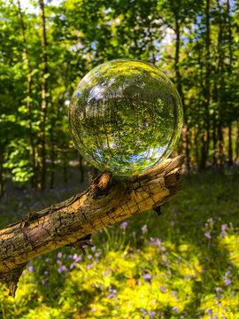 Glass Crystal Photo Ball