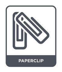 paperclip icon vector