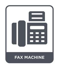 fax machine icon vector