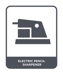 electric pencil sharpener icon vector