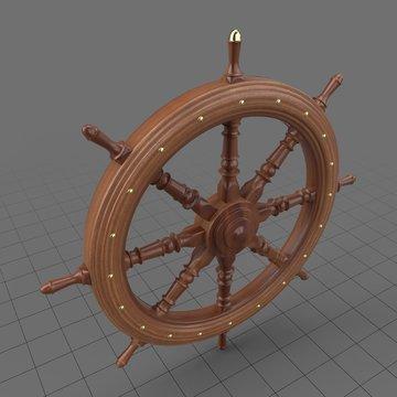 Decorative rudder