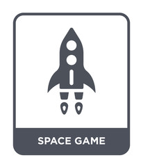 space game icon vector